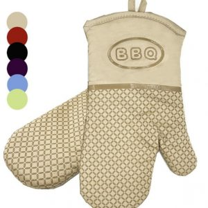 CE silicone grip thermal oven glove