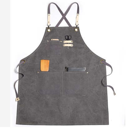 Wholesale Durable Washed Canvas Chef Apron china manufacturer