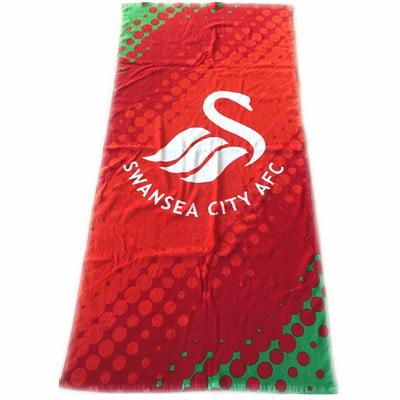 uk football club beach towel