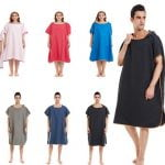 beach changing robe hooed towel china manufacturer