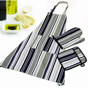 apron and oven mitt set factory