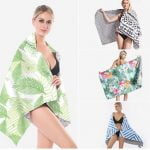 tesalate material sand free beach towel wholesale